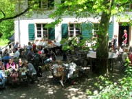 Location: idyllisches Waldrestaurant