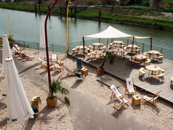 Hafenstrand in mannheim mieten eventlocation und for Restaurant mannheim hafen