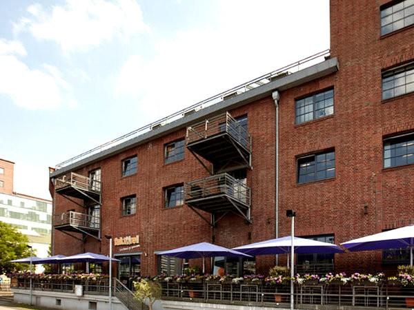 Restaurant am innenhafen in duisburg mieten for Restaurant mannheim hafen
