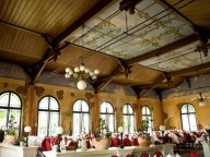 Location: Festsaal in mediterranem Restaurant