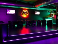 Location: Moderner, eleganter Club in Mannheim