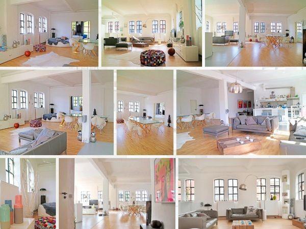 Gro Z Giges Loft Mit Design Ambiente In Hamburg Mieten