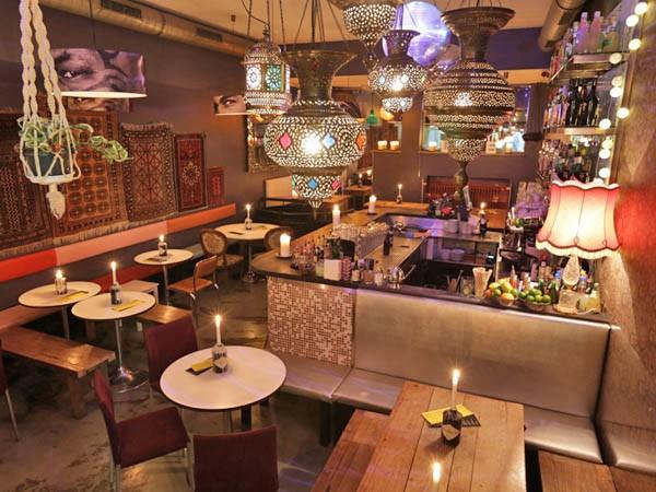 kleines restaurant mit orientalischen ankl ngen in m nchen mieten eventlocation und. Black Bedroom Furniture Sets. Home Design Ideas