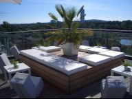 Location: Stilvolles Penthouse mit Terrasse